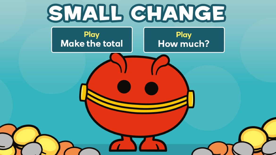 Small change game screen